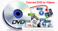 Rip DVD to video formats and popular devices