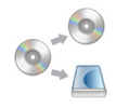 Copy DVD to DVD or Copy DVD to hard drive