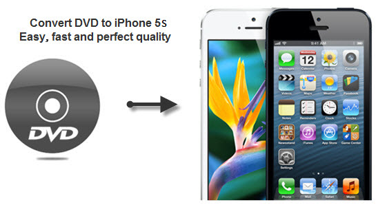 DVD to iPhone 5s Converter, rip encrypted dvd to 5s