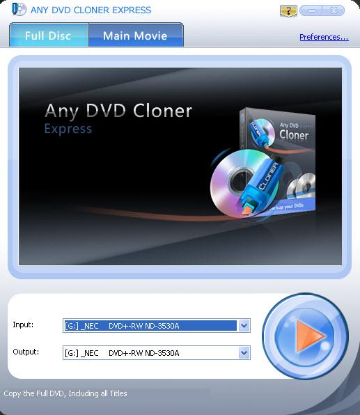 Any DVD Cloner Express - DVD 克隆软件丨反斗限免
